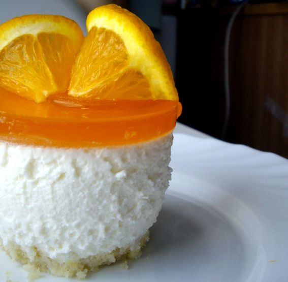 Orange Cream Cheese Mousse